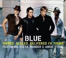 Blue ft. Stevie Wonder - Signed, Sealed, Delivered, I'm Yours cover