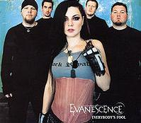 Evanescence - Everybody's Fool cover