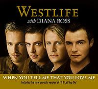 Westlife & Diana Ross - When You Tell Me That You Love Me (no vocals) cover