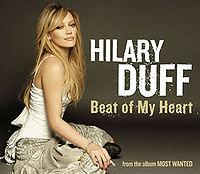Hilary Duff - Beat Of My Heart cover