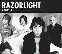 Razorlight - America cover