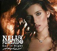 Nelly Furtado - Say It Right cover