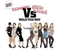 Girls Aloud feat. The Sugababes - Walk This Way cover