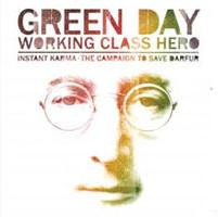 Green Day - Working Class Hero cover