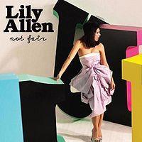 Lily Allen - Not Fair cover