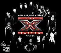 X Factor Finalists 2009 - You Are Not Alone cover