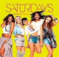 The Saturdays - Higher cover