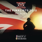X Factor finalists 2010 - Heroes cover