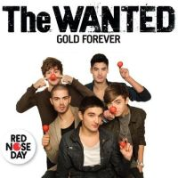 The Wanted - Gold Forever (Comic Relief 2011) cover