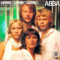 ABBA - Gimme Gimme Gimme (A Man After Midnight) cover