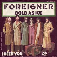 Foreigner - Cold As Ice cover