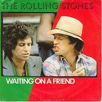 The Rolling Stones - Waiting on a Friend cover