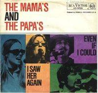 The Mamas and the Papas - I Saw Her Again cover