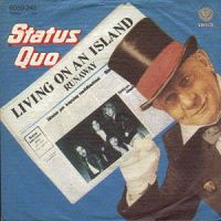 Status Quo - Living On an Island cover