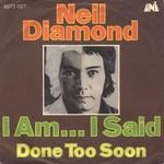 Neil Diamond - I Am I Said cover