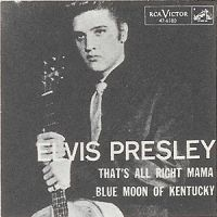 Elvis Presley - Blue Moon of Kentucky cover