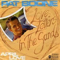 Pat Boone - Love Letters in the Sand cover
