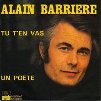 Alain Barrière - Tu t'en vas cover