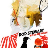 Rod Stewart - Blood Red Roses cover