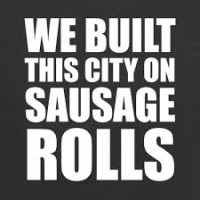 Ladbaby - We Built This City on Sausage Rolls cover