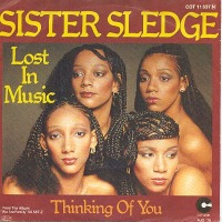 Sister Sledge - Lost in Music cover