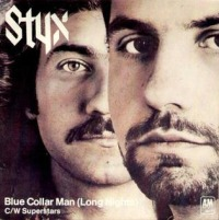 Styx - Blue Collar Man (Long Nights) cover