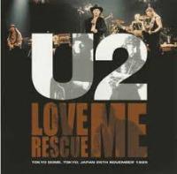 U2 - Love Rescue Me cover