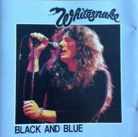 Whitesnake - Black and Blue cover