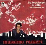 Massimo Ranieri - Se bruciasse la città cover