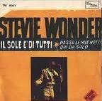 Stevie Wonder - Il sole è di tutti cover