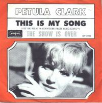 Petula Clark - This Is My Song cover