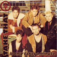 Take That - It Only Takes a Minute cover