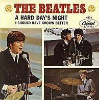 Beatles - A Hard Day's Night cover
