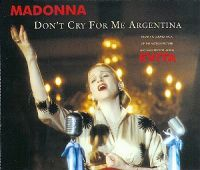 Madonna - Don't Cry For Me Argentina (Dance Mix) cover