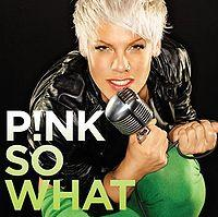 Pink - So What cover