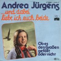 Andrea Jürgens - Und dabei liebe ich euch beide cover