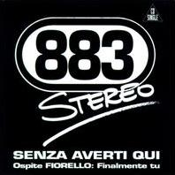 883 - Senza averti qui cover