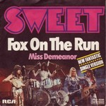 The Sweet - Fox on the run cover