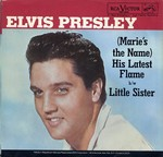 Elvis Presley - (Marie's The Name) His Latest Flame cover