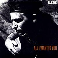 U2 - All I Want Is You cover
