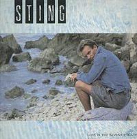 Sting - Love Is The Seventh Wave (7th) cover