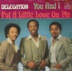 Delegation - Put a little love on me cover